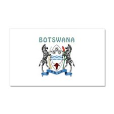 Botswana Coat of arms Car Magnet 20 x 12