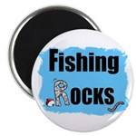 FISHING ROCKS Magnet