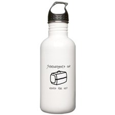 Schrodingers Cat Carrier Sports Water Bottle