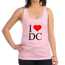 I Love DC Racerback Tank Top