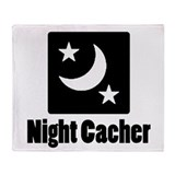 Night Cacher Throw Blanket