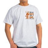 Fights Like a Girl 42.9 Leukemia T-Shirt