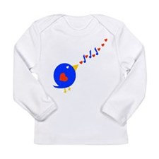 Cute Love Bird Long Sleeve Infant T-Shirt