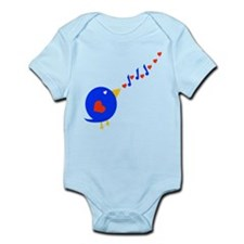 Cute Love Bird Infant Bodysuit