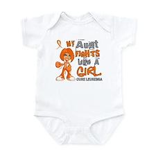 Fights Like a Girl 42.9 Leukemia Infant Bodysuit