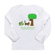 Rainforest Safari Long Sleeve Infant T-Shirt