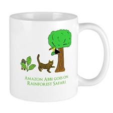 Rainforest Safari Small Mug