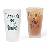 Unique Father of the bride Drinking Glass