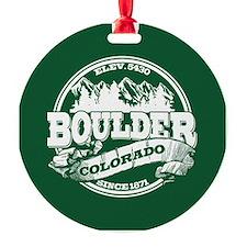 Boulder Old Circle Ornament