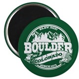 Boulder Old Circle Magnet