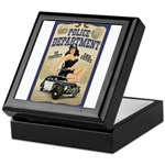 Police Department Keepsake Box