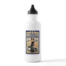 Police Department Water Bottle