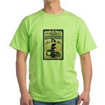 Police Department Green T-Shirt