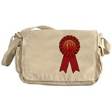 1st Place Ribbon Messenger Bag