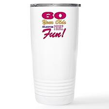 Fun 60th Birthday Gifts Travel Mug