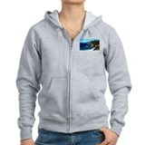 Big Sur on the Pacific Coast Zip Hoodie