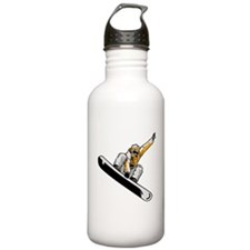 Extreme Snowboarder Water Bottle