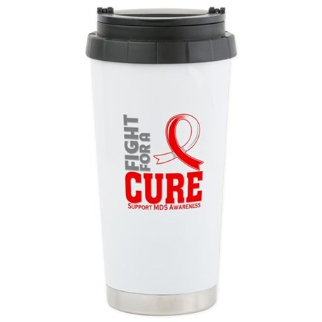 MDS Fight For A Cure Ceramic Travel Mug