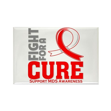 MDS Fight For A Cure Rectangle Magnet