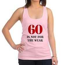 60th Birthday Gag Gift Racerback Tank Top