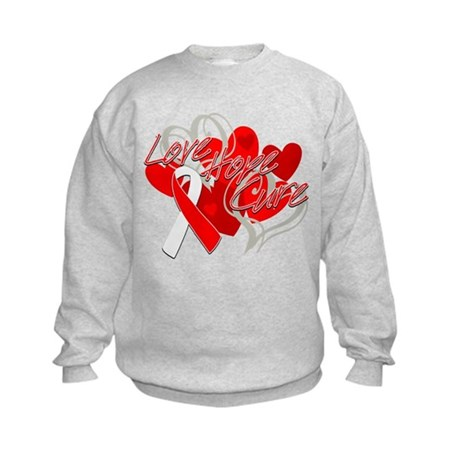 MDS Love Hope Cure Kids Sweatshirt