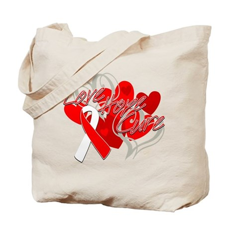 MDS Love Hope Cure Tote Bag