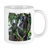 Madagascar Snapshots: Crowned Lemur Small Mug