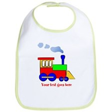 Personalize Choo Choo Train Engine Bib