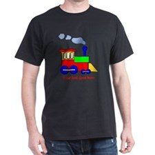 Personalize Choo Choo Train Engine T-Shirt