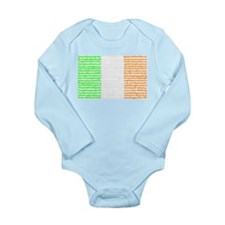 Irish Cities Flag Long Sleeve Infant Bodysuit
