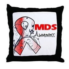MDS Awareness Throw Pillow