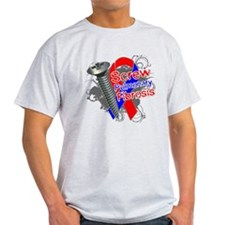 Screw Pulmonary Fibrosis T-Shirt