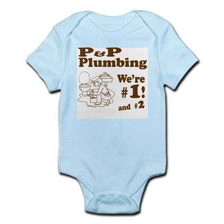 P P Plumbing Infant Bodysuit