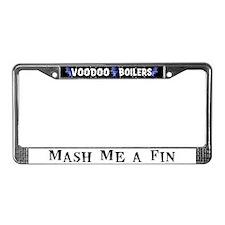 Mash Me a Fin License Plate Frame