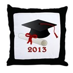 GRADUATE 2013 Throw Pillow