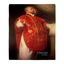 St Ignatius Loyola 1600 Throw Blanket