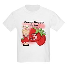 (Blond) Berry 3rd Birthday T-Shirt