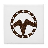 THE WATCHERS B Tile Coaster