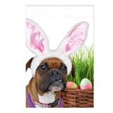 Easter Boxer Dog Postcards (Package of 8)
