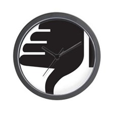 Thumbs Down Wall Clock