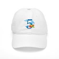5th Birthday Airplane Baseball Cap