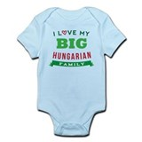I Love My Big Hungarian Family Infant Bodysuit