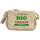 I Love My Big Hungarian Family Messenger Bag