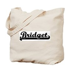 Black jersey: Bridget Tote Bag