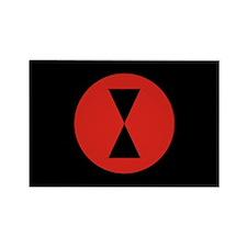 Flag of Borduria Rectangle Magnet