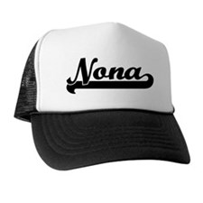 Black jersey: Nona Trucker Hat
