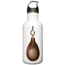 Leather Boxing Speed Bag Sports Water Bottle