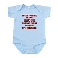EATING BACON Infant Bodysuit