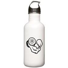 Big Muscle Curl Water Bottle