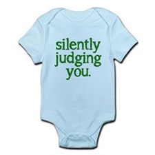 Silently judging you Infant Bodysuit